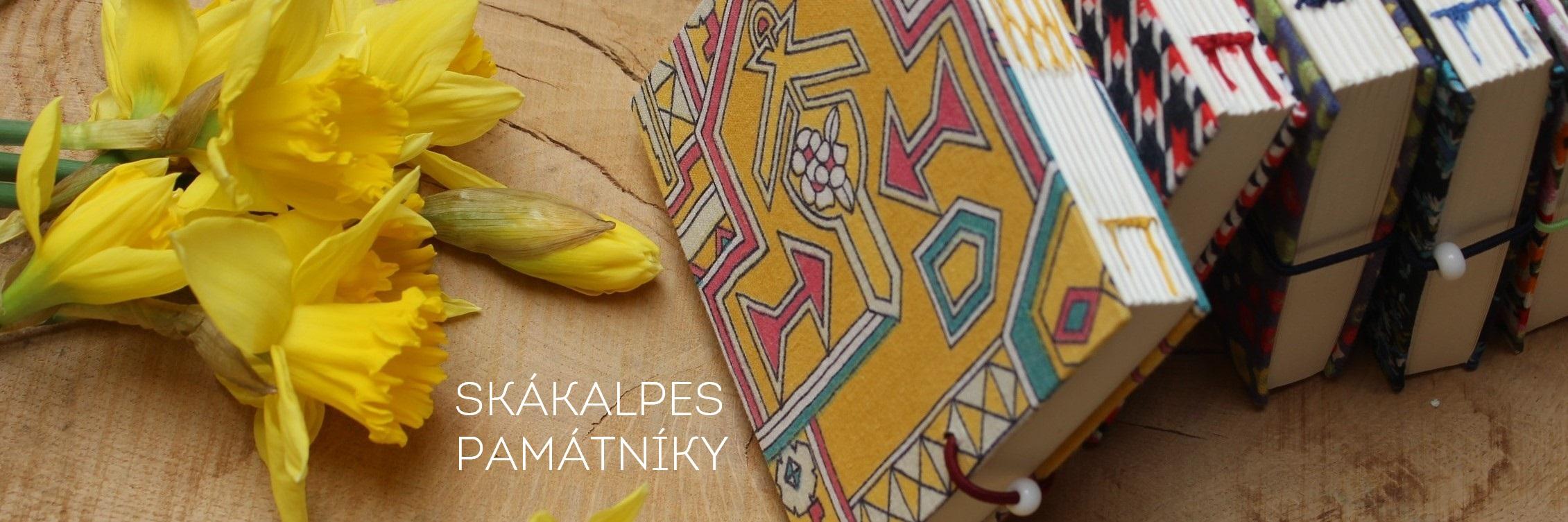 Památník SKÁKALPES originální upcyklovaný ručně šitý