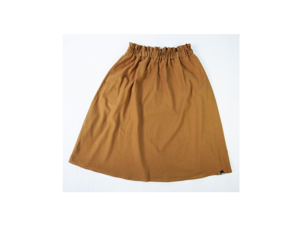 oříšková sukně