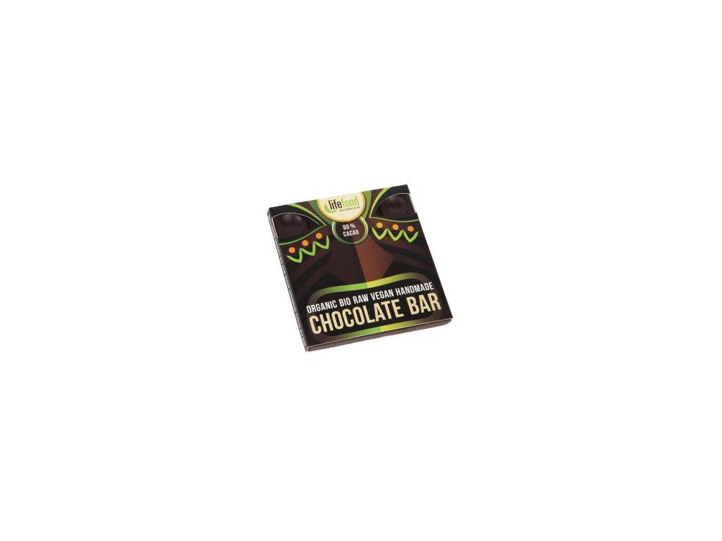 raw bio vegan lifefood cokolada tmava 35 400 400