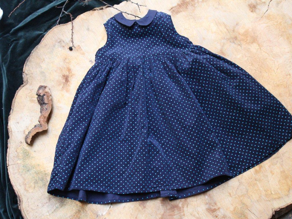 šaty puntík MamaPapas 3-4Y