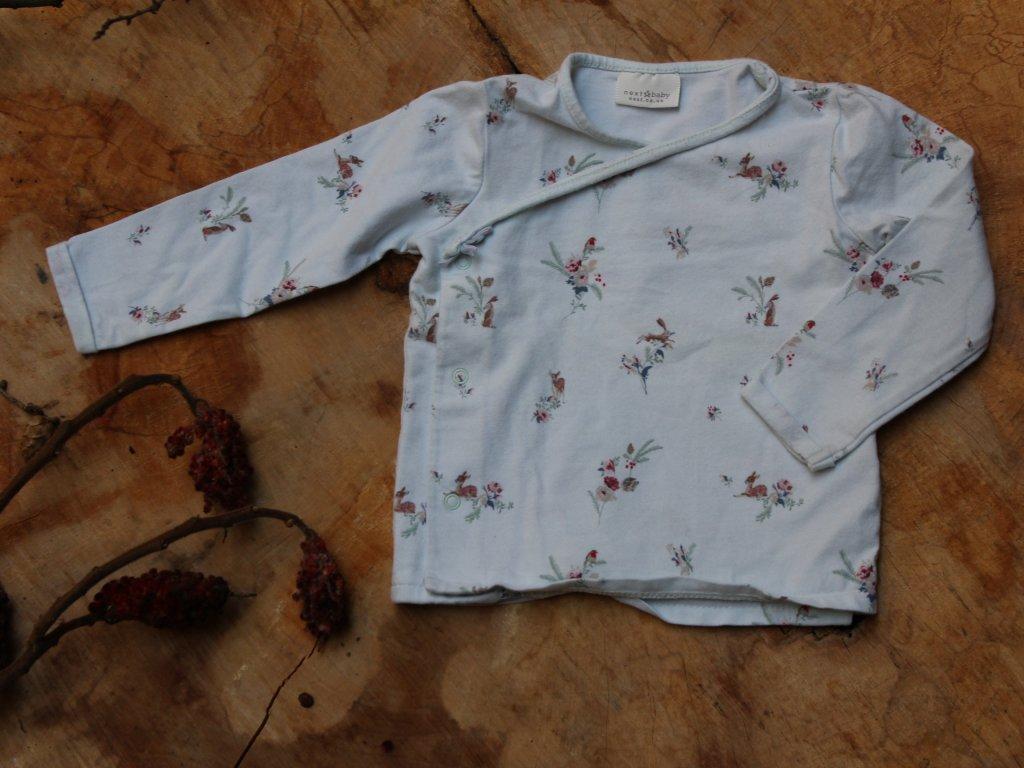 romantické tričko Next 6-9M