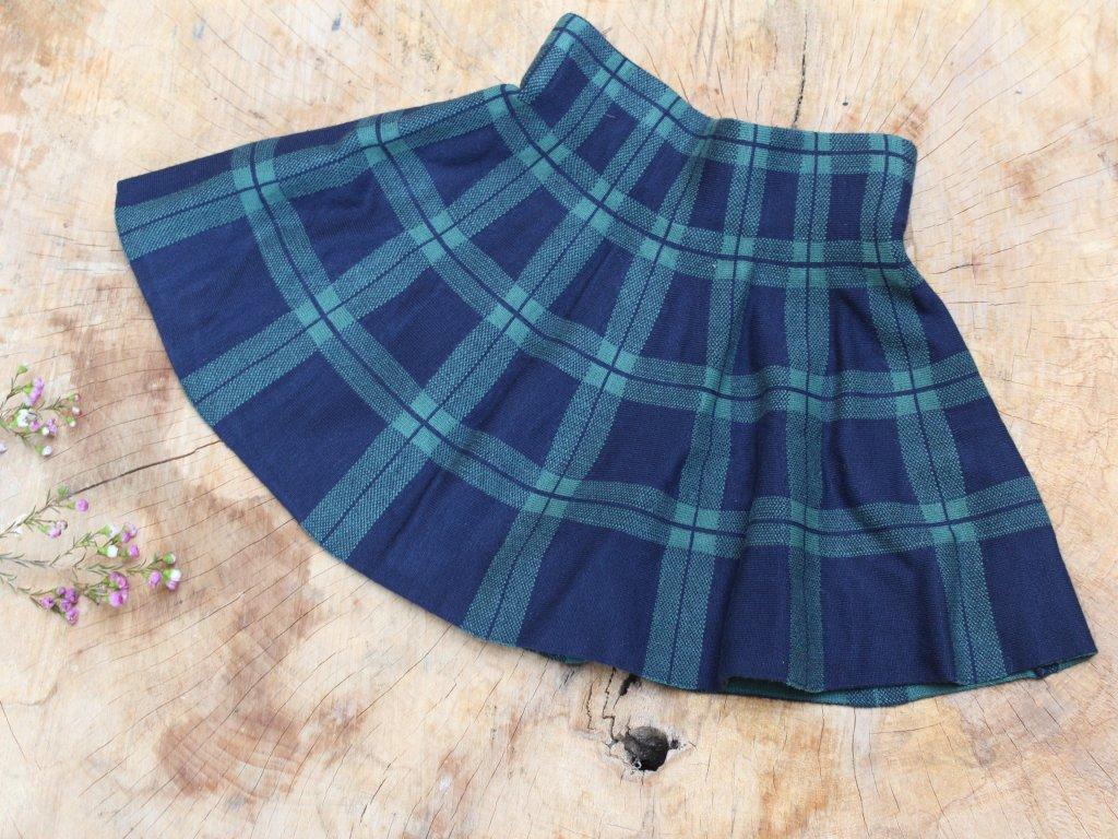 viskozová sukně káro Palomino 110