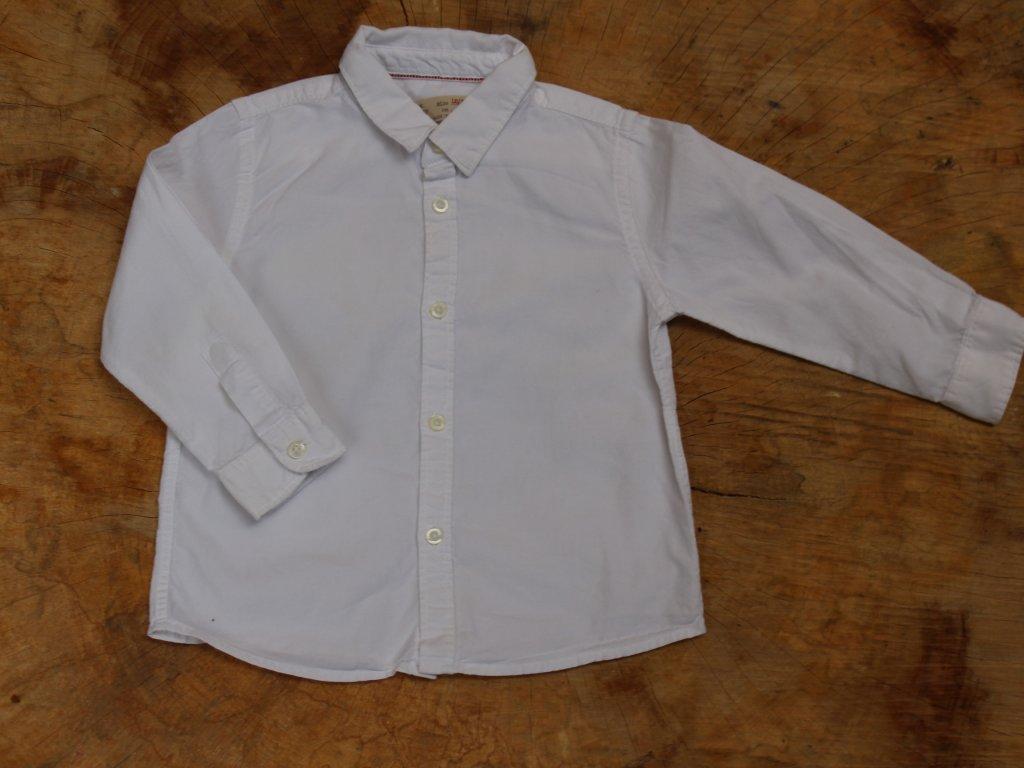 čistě bílá košile Zara 86