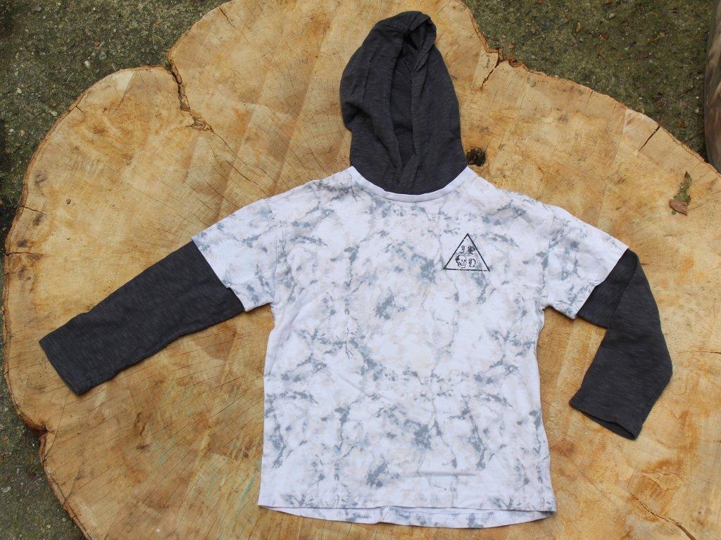 tričko s dlouhým rukávem a kapucí Next 116
