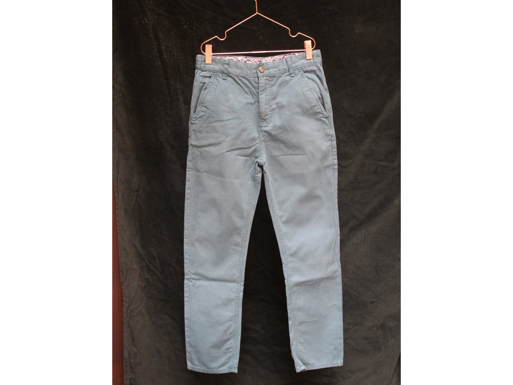 zelené kalhoty M&S 11-12Y