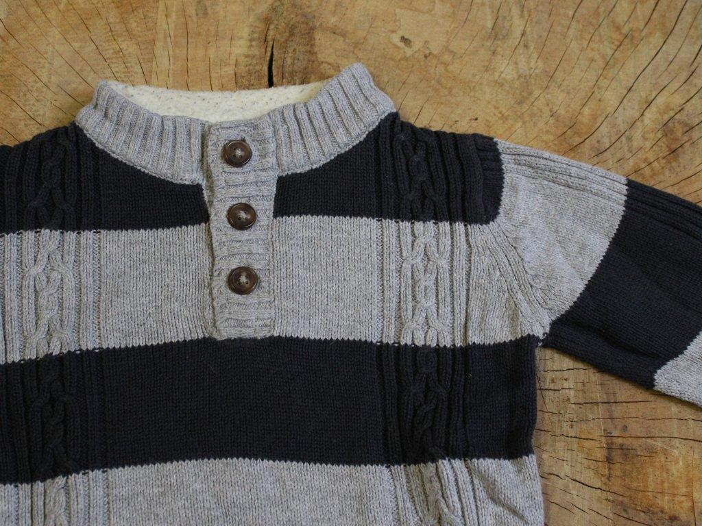 proužkovaný svetr Baby Club 86