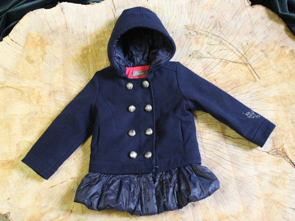 stylový tm.modrý kabátek Jean Bourget 86