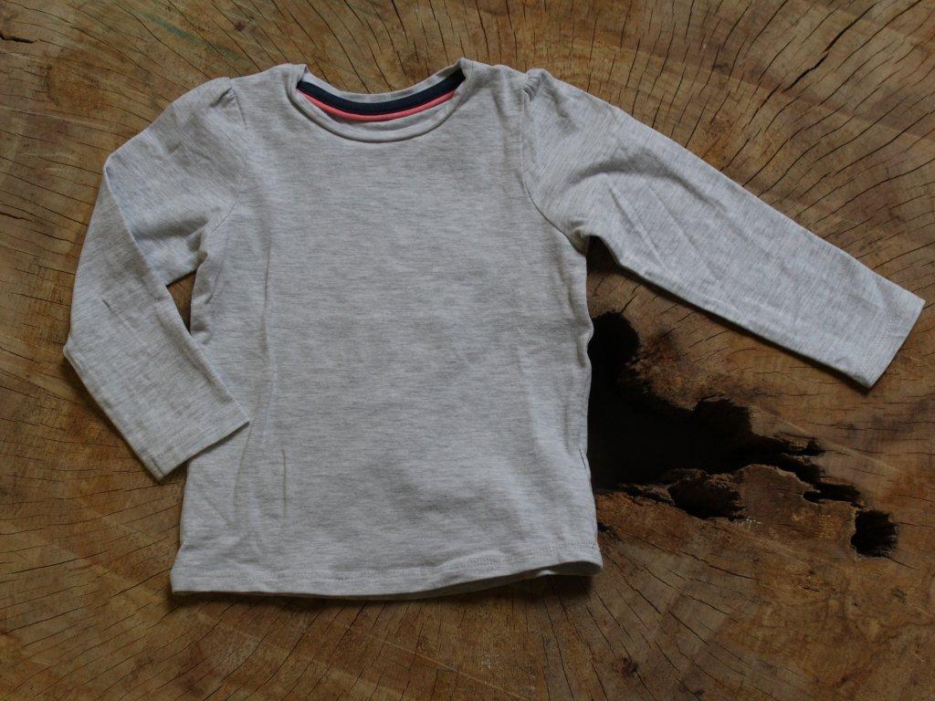 šedé tričko Mothercare 86