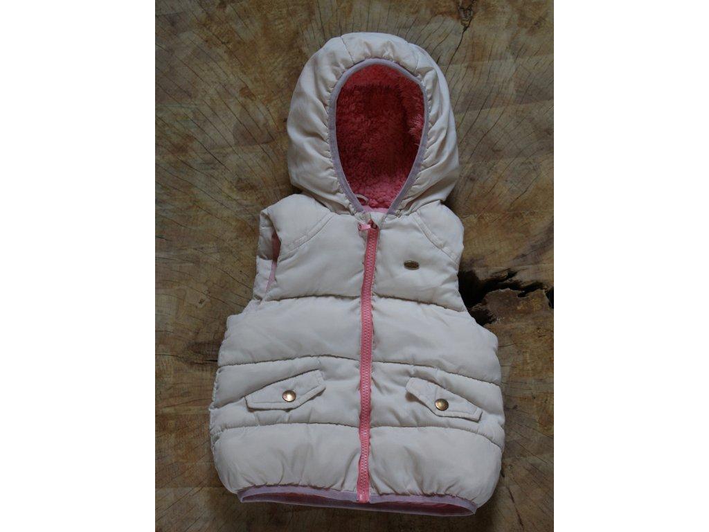 světle růžová vesta Zara 2-3Y