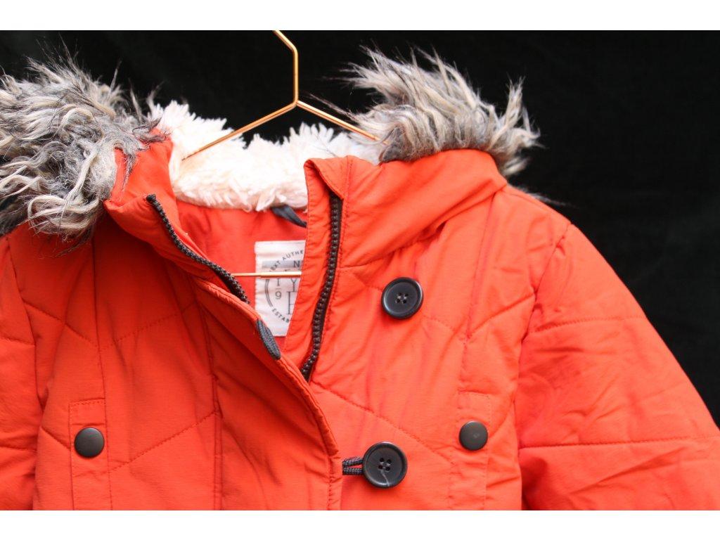 oranžová bunda Next 116