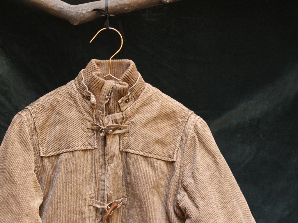 hnědá manšestrová bunda H&M 4-5Y