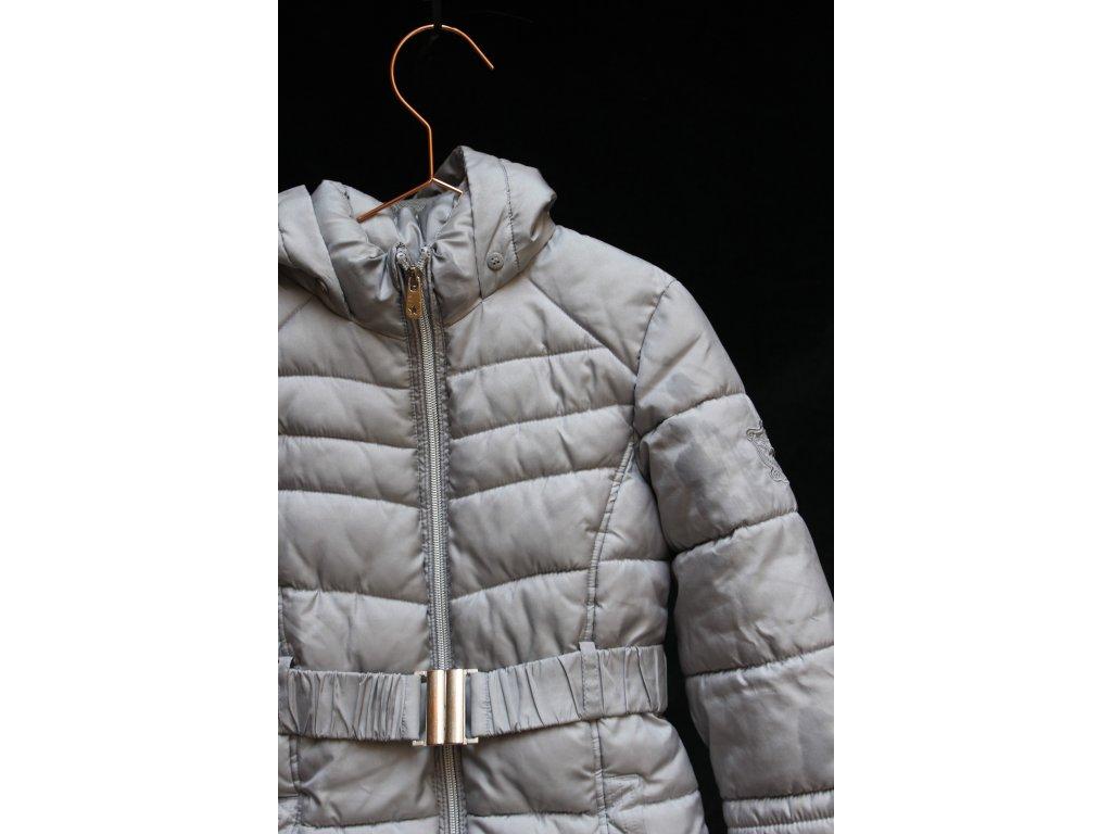 světle šedá bunda s kapucí Palomino 116