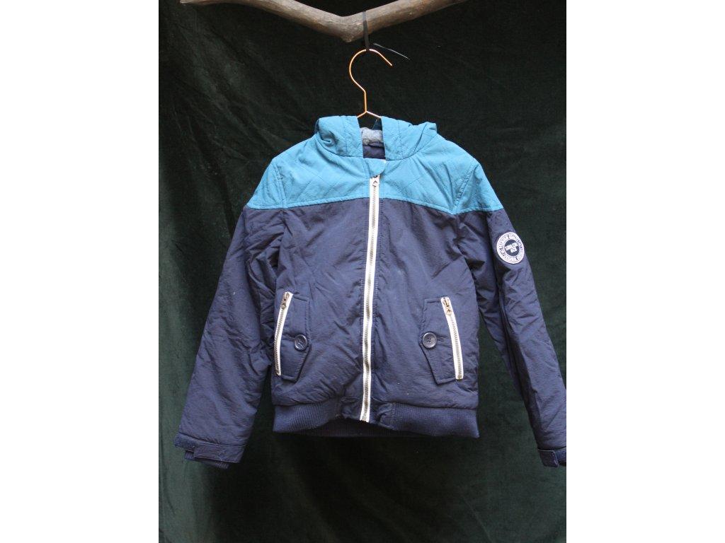 modrá sportovní bunda s kapucí Soulcal&Co 7-8Y