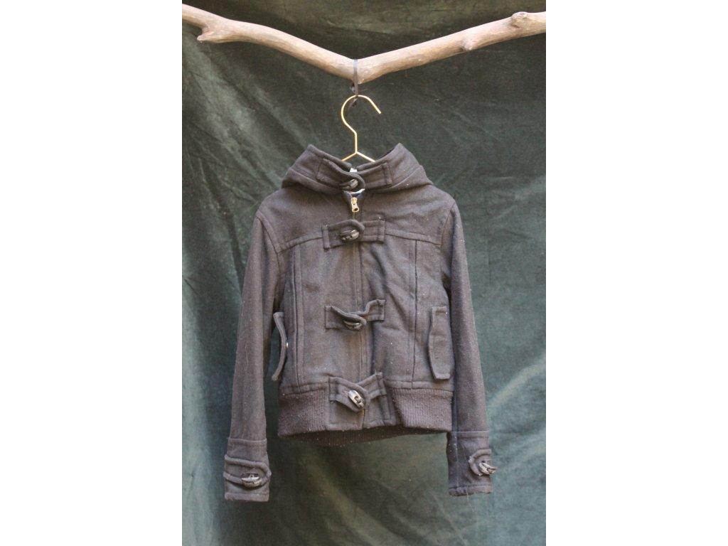 černá vlněná bunda Zara Boys 7-8Y
