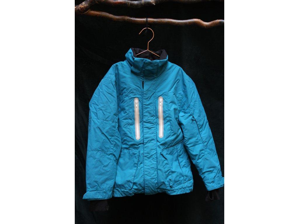 tyrkysová bunda H&M 140
