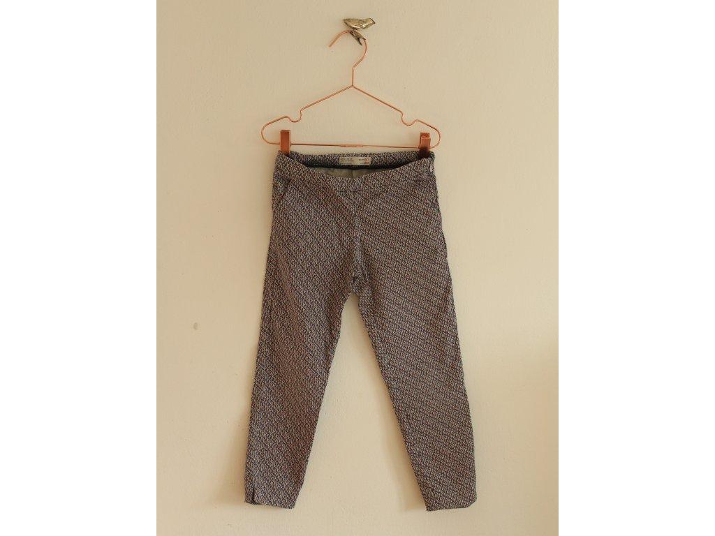 kalhoty se vzorem ZARA 122