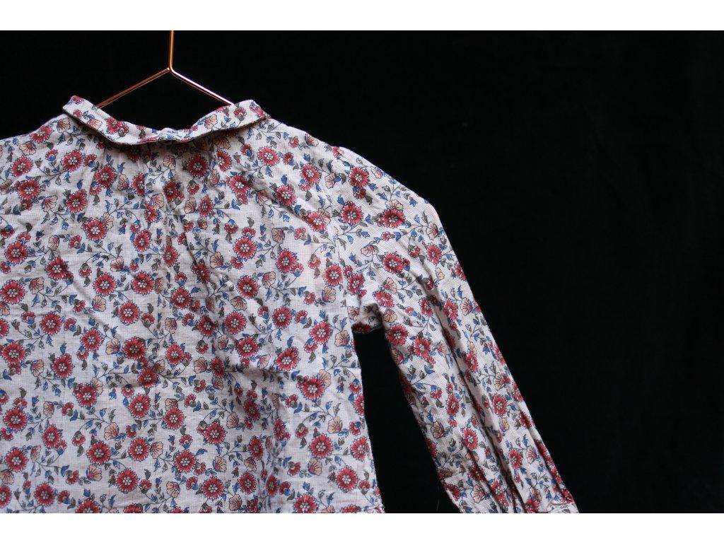 romantická květinová halenka ZARA 80