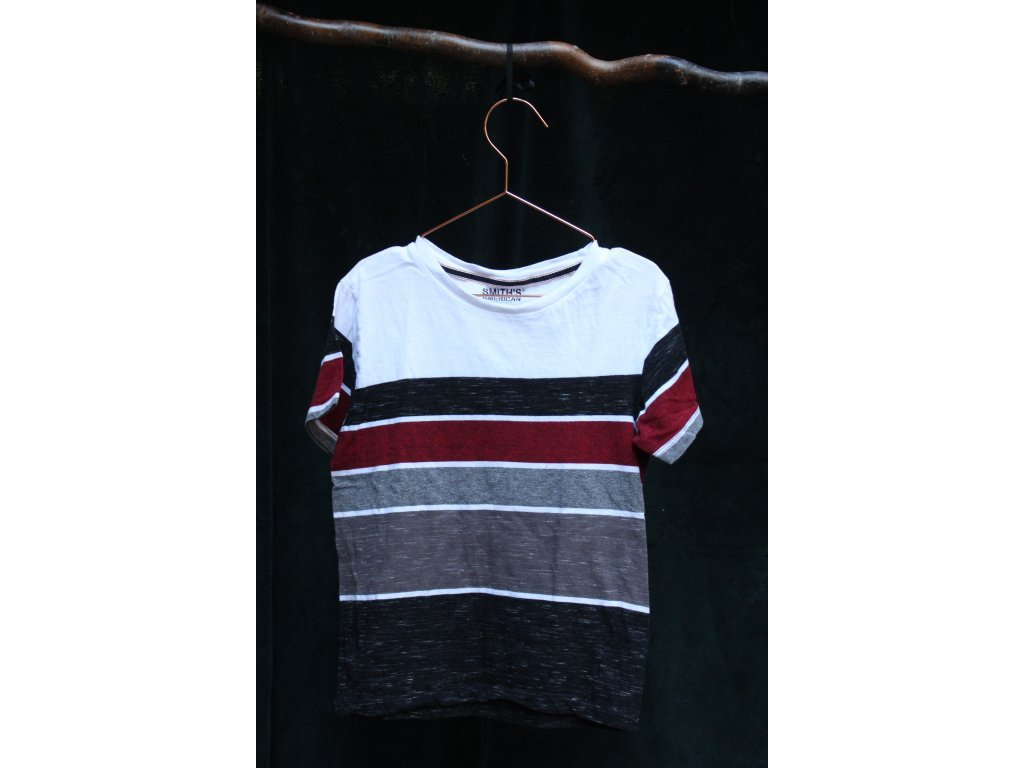efektní tričko s pruhy Smith's American 8Y