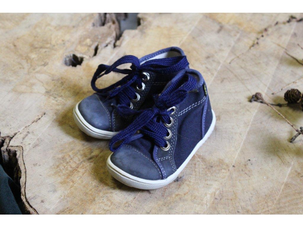 tmavě modré kotníčkové unisex boty FARE 20