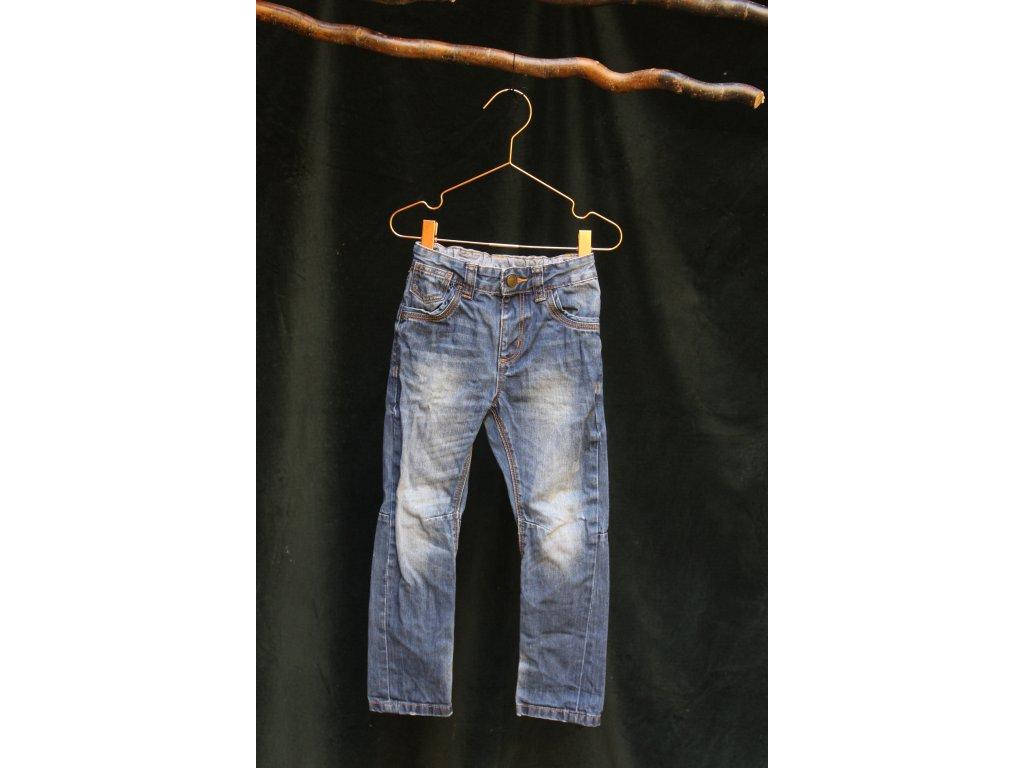 modré bavlněné džíny George 4-5Y