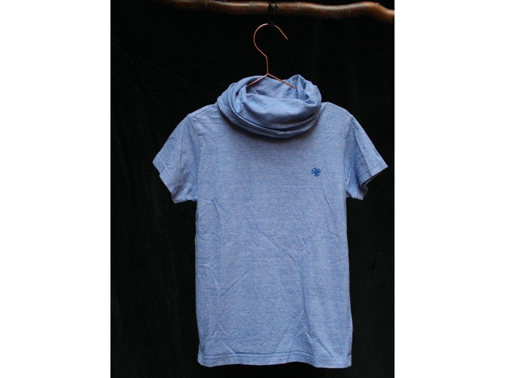 triko s kr.rukávem modrý melír Next 9Y