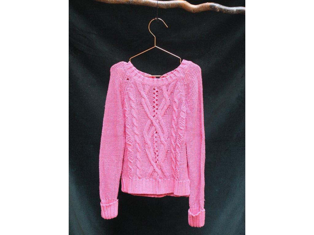 růžový svetr GAP 8-9Y