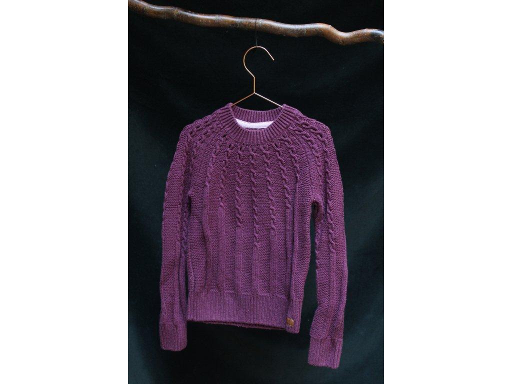 fialový svetr H&M 134