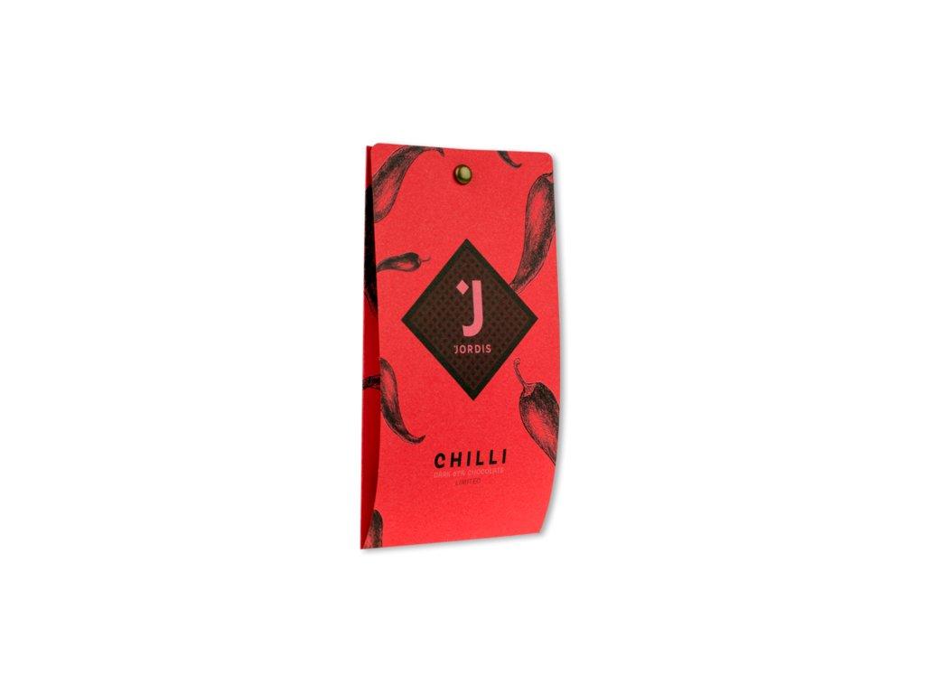 jordi s chilli 67 horka cokolada limited 50 g