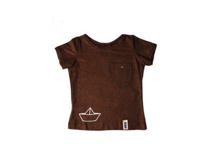 tričko s loďkou CUNA VLNAMI viskoza
