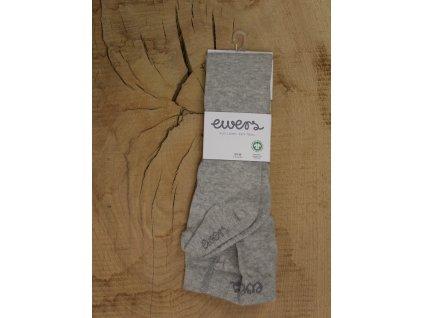 punčocháče EWERS šedé BIO bavlna