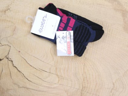 ponožky EWERS tmavorůžové