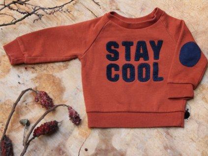 mikina Stay Cool skořice Primark 9-12M