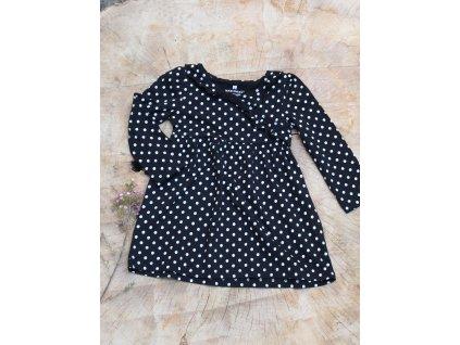 šaty černý puntík Healthtex 3Y