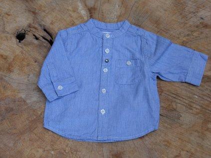modrá košile Vertbaudet 60/3M