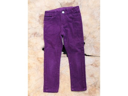 vínové manšestrové kalhoty Dopodopo 104