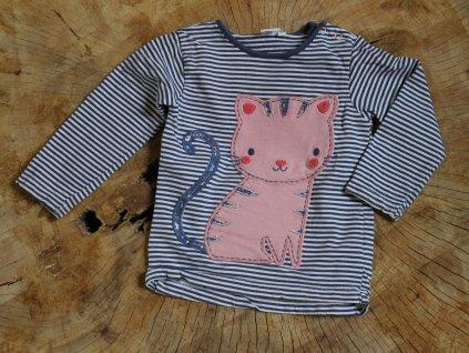 proužkované tričko Bluezoo Baby 12-18M