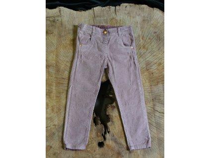 světle fialové manšestrové kalhoty TU 3-4Y