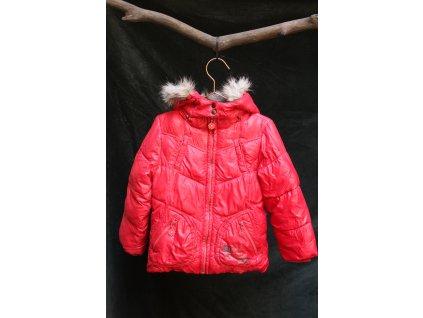 červená bunda S.Oliver 4-5Y
