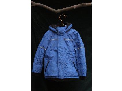 funkční modrá bunda s kapucí Urban 122