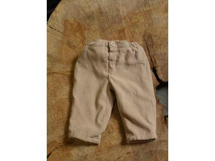newborn béžové kalhoty Mayoral 50