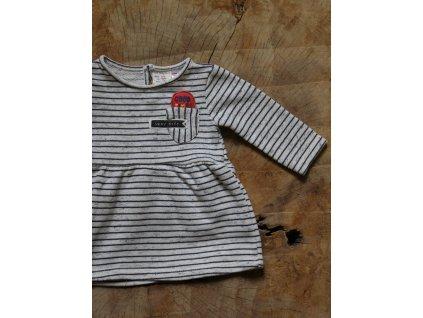 šaty z teplákoviny Zara Baby 74