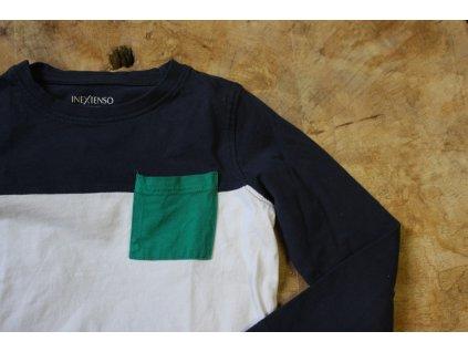 Efektní tričko s kapsičkou z organické bavlny 6Y