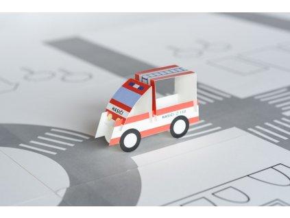 Pepe hasiči vystřihovánka