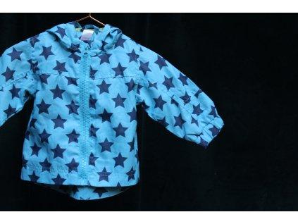 přechodová bundička s hvězdami Baby 6-9M
