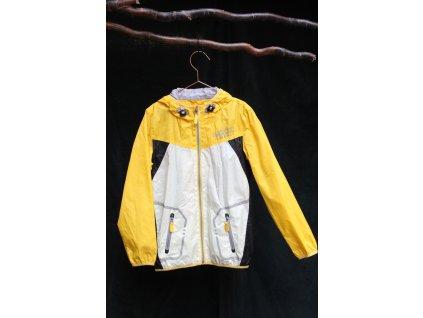 žluto-bílá přechodová bunda Superior 9-10Y