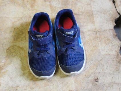 modré tenisky Nike 23,5