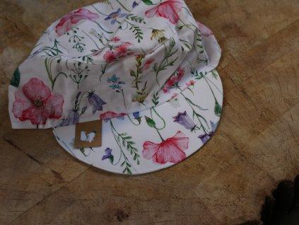 kšiltovka z bavlny Indian summer květiny 50