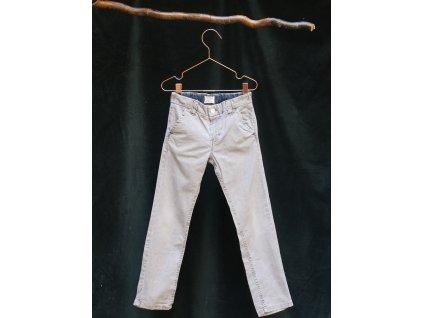 šedivé-khaki kalhoty Next 116