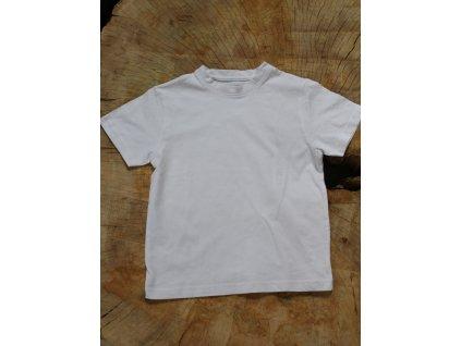 bílé basic tričko TU 5Y