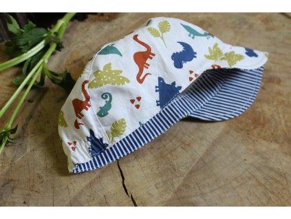 kšiltovka z bavlny Andy dinosauři 44